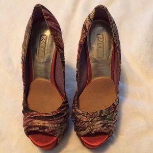 Wild Pair platform heels